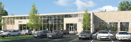 Car Dealership Fire Sprinkler and Fire Detection System - Hendrick Volkswagen of Frisco
