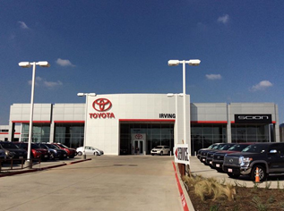 Car Dealership Fire Sprinkler and Fire Detection System - Toyota of Irving